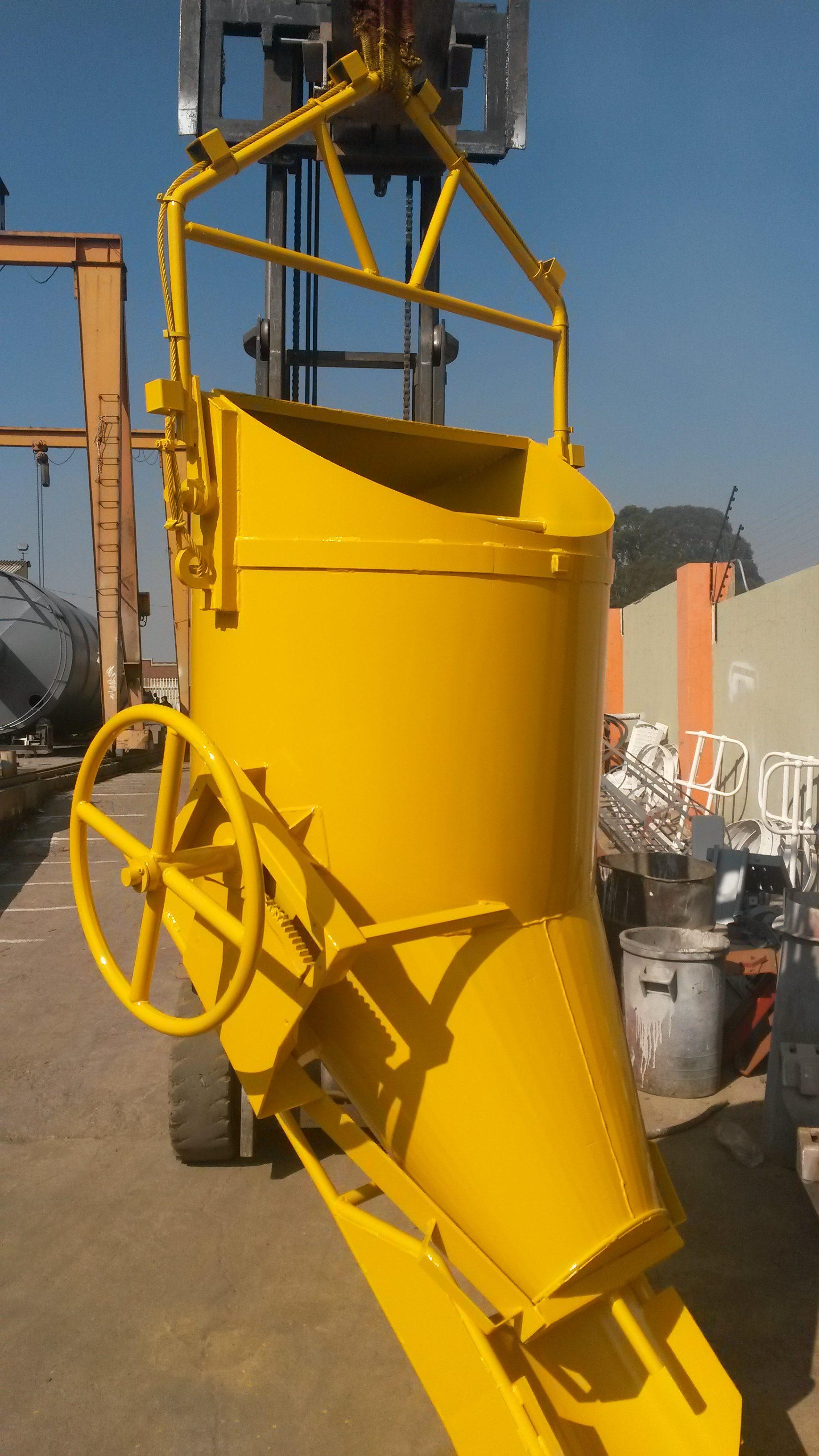 Concrete Buckets Side Discharge Bucket Banana Bucket