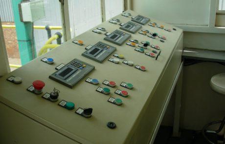Batching Plant - Control panel