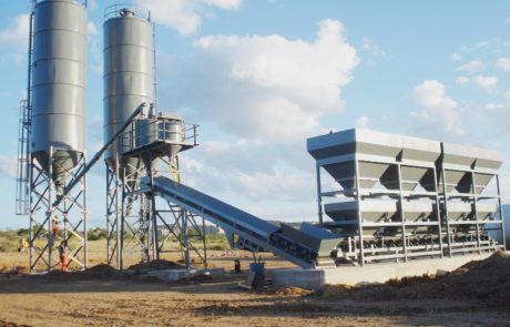 Batching Plant - Namib with 4 hoppers