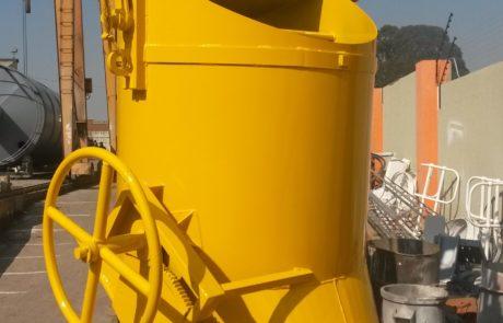 Concrete bucket - Banana