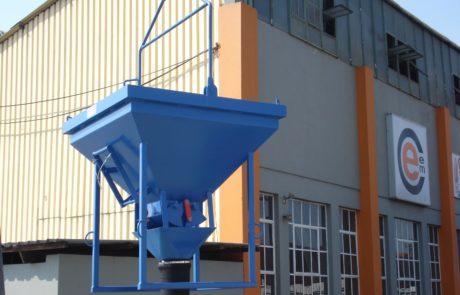 Concrete bucket - Sock discharge Bucket