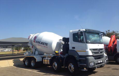 Drum Mixer - 8m Mercedes Truck