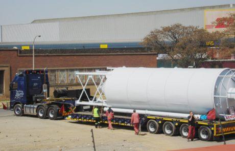 Silo - 100 Ton loaded