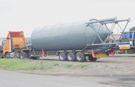 Silo - 100 ton silo