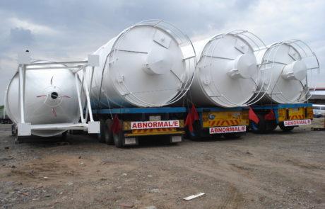 Silo - 100 ton transport