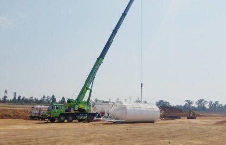 Silo - Erecting a silo