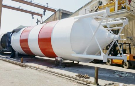 Silo - Ready for loading
