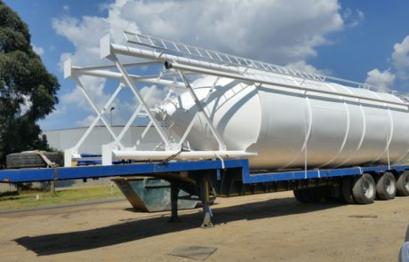 Silo - ready for delivery